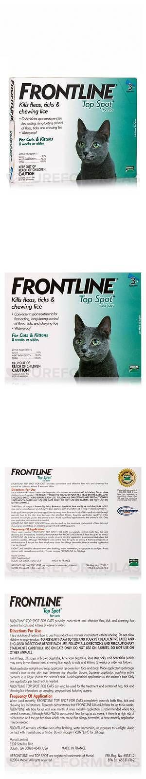 Health Care 177787: Frontline Top Spot For Cats And Kittens (8 Weeks+) - 3 Applicators Frontline BUY IT NOW ONLY: $36.07