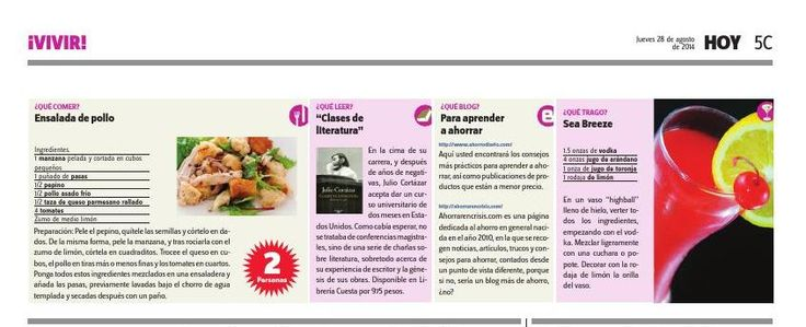 #ClippedOnIssuu from Periodico hoy 28 de agosto, 2014