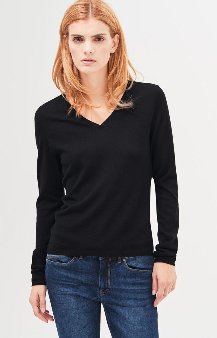 Strickpullover Kora in Schwarz Jetzt bestellen unter: https://mode.ladendirekt.de/damen/bekleidung/pullover/sonstige-pullover/?uid=fbb22719-d084-5c2d-9250-1bc45fdc09a6&utm_source=pinterest&utm_medium=pin&utm_campaign=boards #sonstigepullover #strick #pullover #kategorien #bekleidung #women