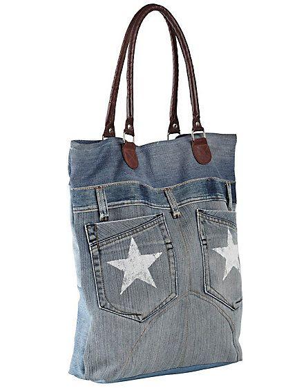 Koop Heine - Jeanstas blue used in de Heine online-shop