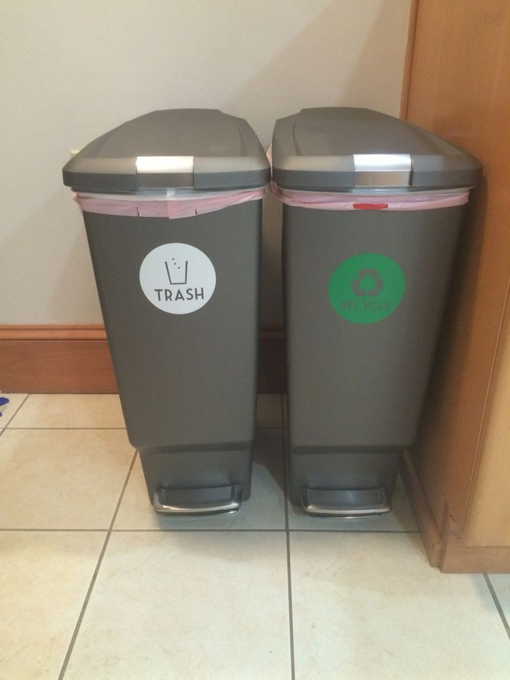 Best 25 Trash And Recycling Ideas On Pinterest Kitchen