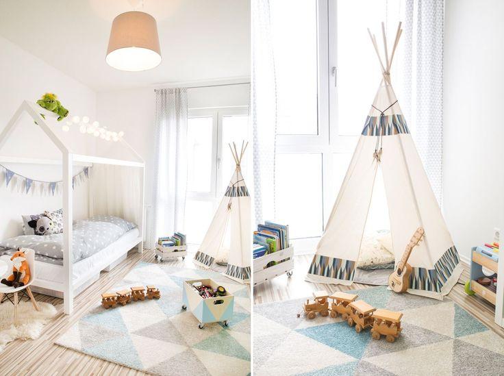 Kinderzimmer einrichten: Mit Teppich & Tipi wird's bei Mamigurumi gemütlich