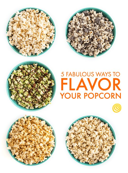 5 Fabulous Ways to Flavor Your Popcorn — Simple Snack Recipes from The Kitchn | The Kitchn | Bloglovin'
