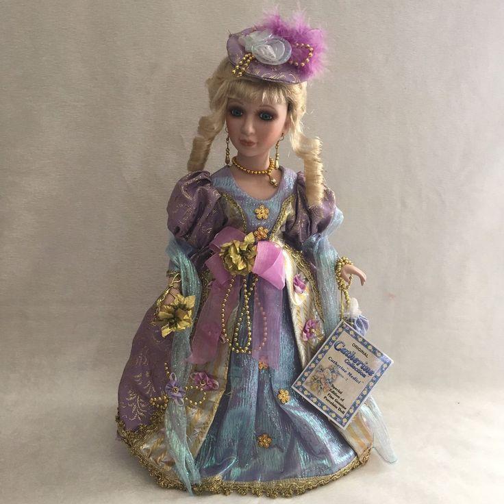 "Lot 2 Catherine Medici 17"" Victorian Porcelain Dolls Series 3 w/ COA | eBay!"