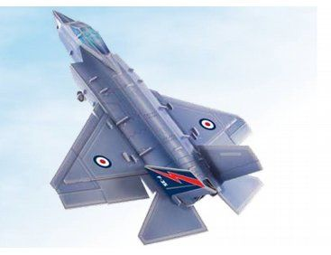 The Humatt F35B Lightning II Foam 3D Puzzle Plane from the Foam Puzzle Plane range. These constructable planes made from a light foam board make great gifts, are fantastic entertainment for any age and show stunning representations of each of the planes.
