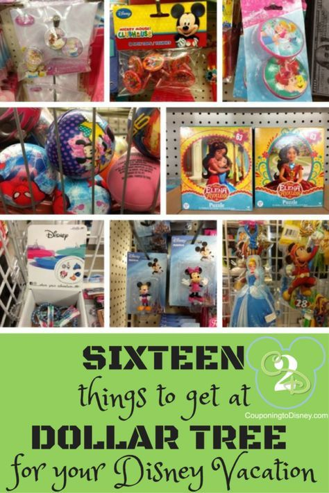 Dollar Tree: 16 Items To Buy For A Disney Vacation - I bet you didn't even think of #7!