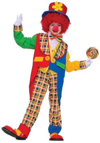 Kids Clown Costume - Boys Clown Costumes for Halloween