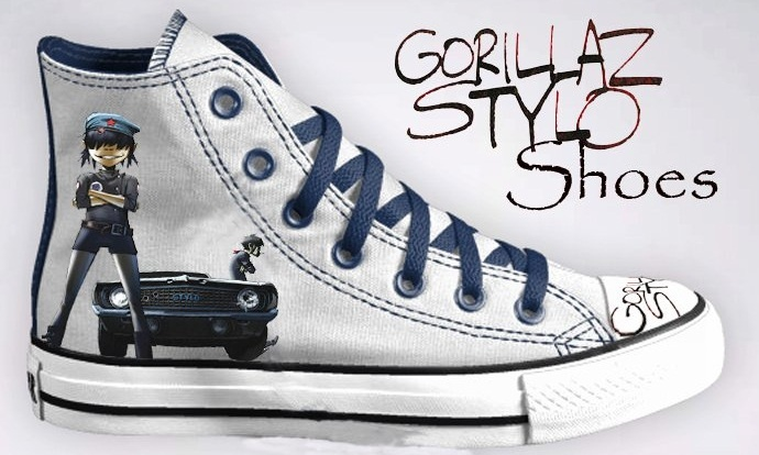 Gorillaz Stylo shoes! <3 I didn't even know this shoe existeeeed!!!! AAAAAAHH! Lol