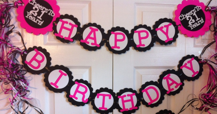21st birthday party decorations personalization available for 21st birthday decoration ideas