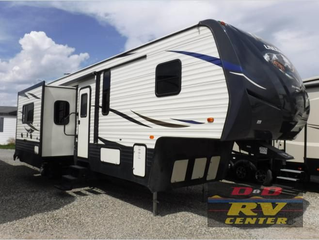 New 2018 Palomino Puma Unleashed 384 Fqs Toy Hauler Fifth Wheel At