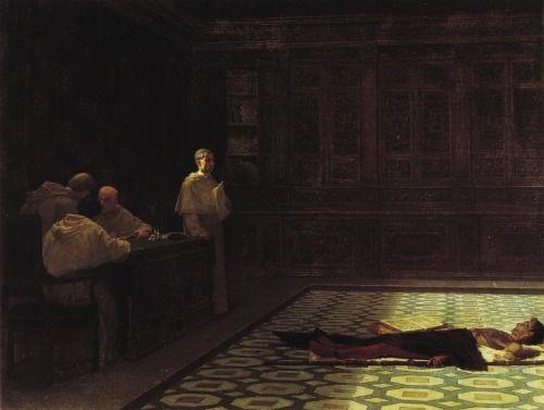 laclefdescoeurs:  A rigorous examination by the Holy Office, 1864, Gioacchino Toma