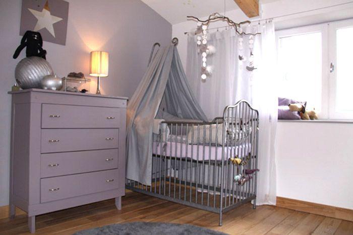 Une chambre branchée pour bébé   Chambre bebe