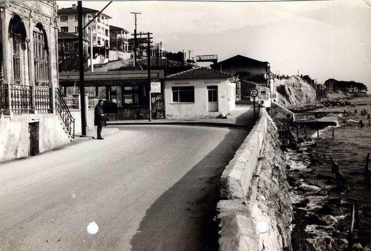 Bostancı'da deniz (1960lar) #istanlook