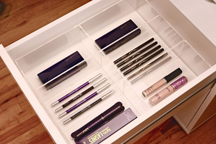17 best images about makeup organization on pinterest Makeup drawer organizer ikea