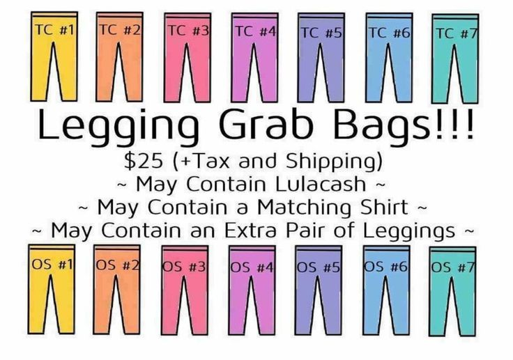 LuLaRoe leggings grab bag sale going on now!!