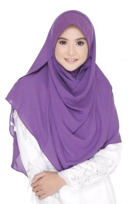 SYIFA INSTANT SOFT AWNING PURPLE