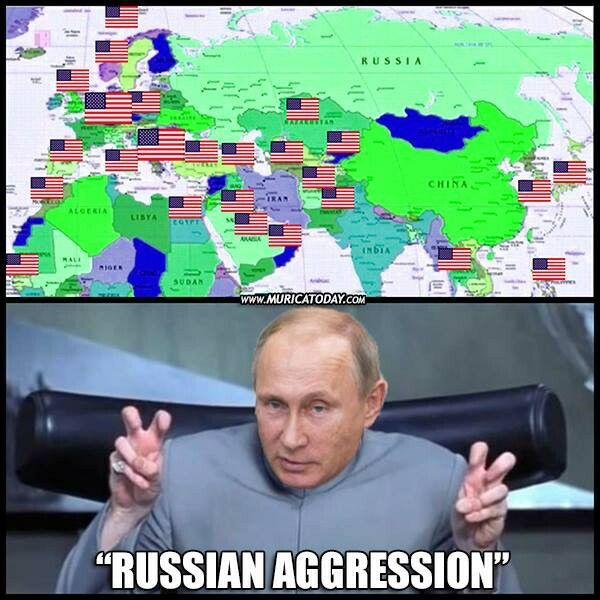 Yeah Putin, Why the fuck you put your country so damn close to the U.S. military bases 😀🤣🤓