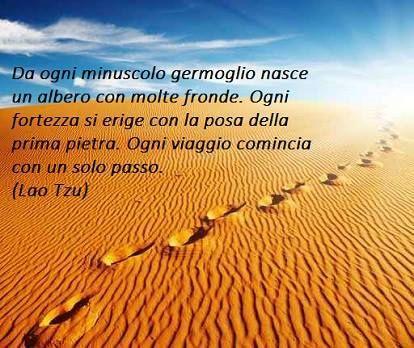 Ogni viaggio comincia con il primo passo #obiettivi #motivazione