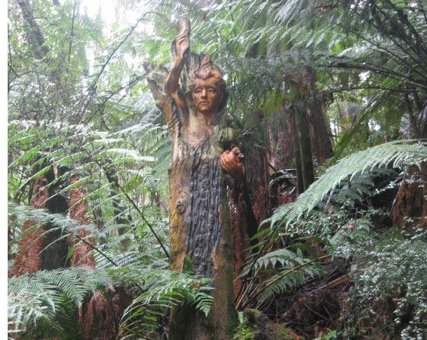 William Ricketts Sanctuary Dandenong Ranges Victoria Australia