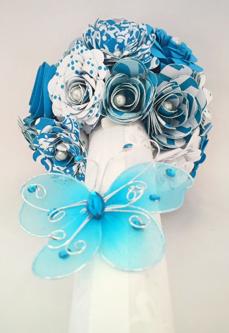 14 best paper flowers images on pinterest dance recital paper think spring handmade paper flower bouquet thank you get well soon thinking of dhlflorist Gallery