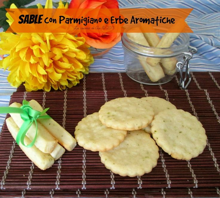 sablè parmigiano erbe aromatiche La cucina di ASI © 2015 o