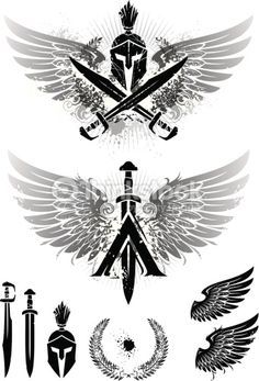 spartan tattoo - Google Search                                                                                                                                                                                 Más
