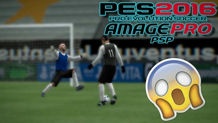 PES 14/16 PSP TUTORIAL | Amage SuperArchiMegaHiperUltraGigaDuperRecontra...