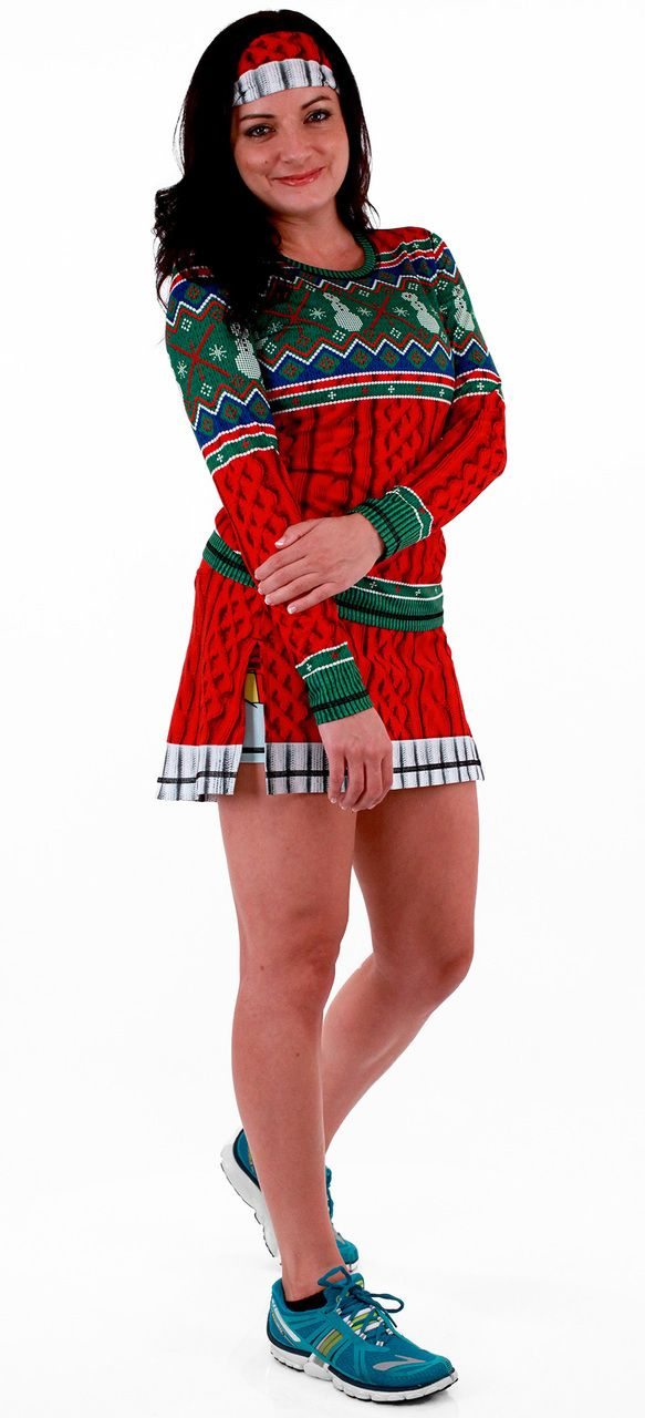 INKnBURN Holiday Kit -- While this looks like a wooly, cable-knit skirt, it is really our silky, cooling Dry I.C.E. Technical Fabric.