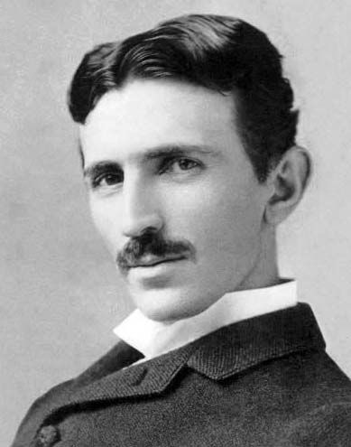 Nikola Tesla (1856-1943) - The Genius Who Lit the World. Scientist and Inventor. Inventions: a telephone repeater, rotating magnetic field principle, polyphase alternating-current system, induction motor, alternating-current power transmission, Tesla coil transformer, wireless communication, radio, fluorescent lights, and more than 700 other patents.