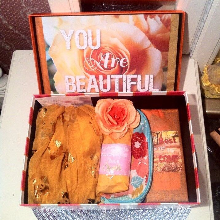 Send her a DELUXE #youarebeautifulbox perfect for a #birthdaygirl #anniversary #collegecarepackage