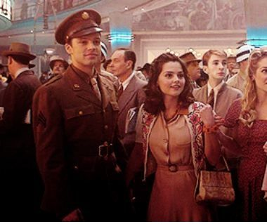 Guuuuuyyyyyssss.... what is Clara doing with Captain America and the Winter Soldier?