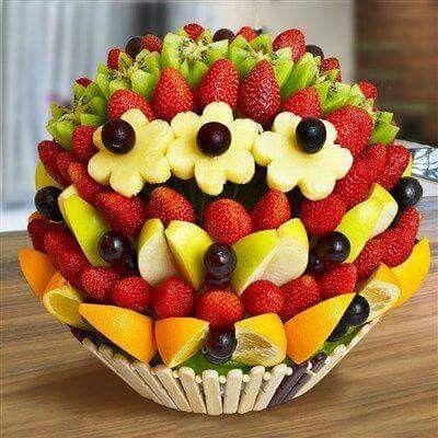 Arreglo de frutas