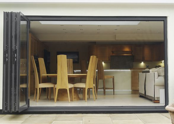 Professionally Installed Schuco bi-folding doors from Dobsons & 11 best Schuco images on Pinterest   Windows Sliding doors and ... pezcame.com