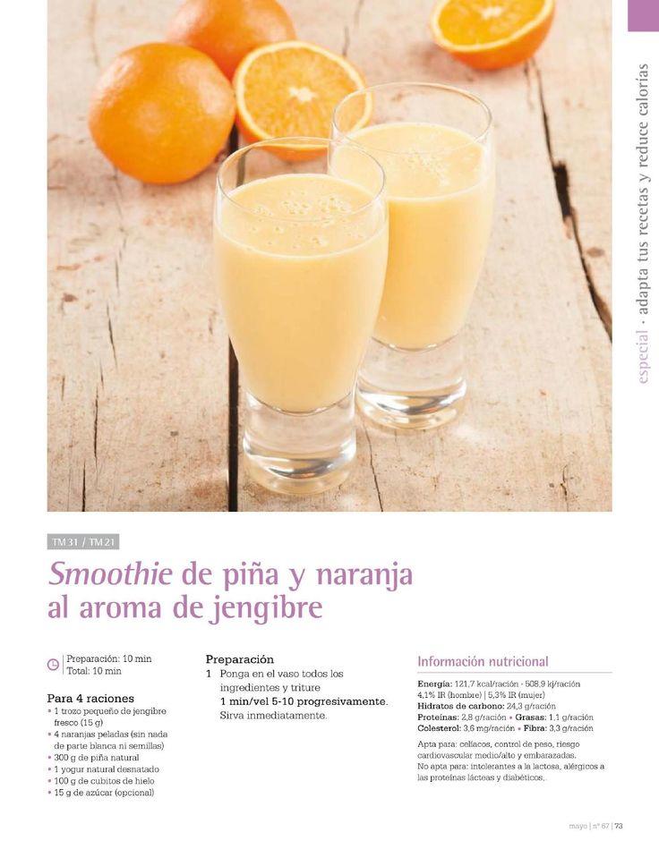 Revista thermomix nº67 ligero y sabroso recetas bajas en calorías por argent