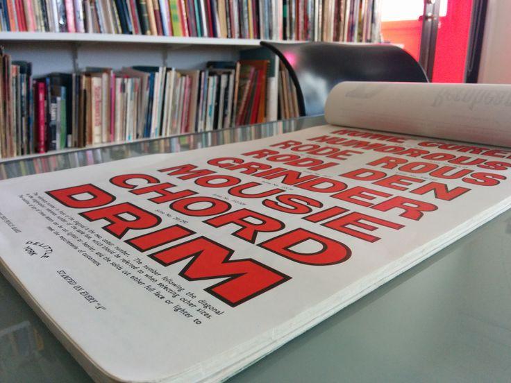 Stephen Banham of Letterbox studio, Melbourne. #typography #lettering #type #typeface #script #graphic #design #graphicdesign #art #townhall #melbournetownhall #exhibition #characters #letterbox #stephenbanham #type #studio #library #books  #melbourne #brunswick #australia