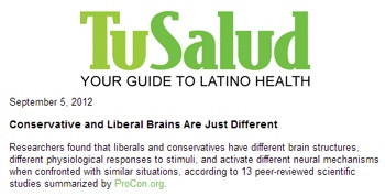 blogs health conservatives liberals have different brains studies show