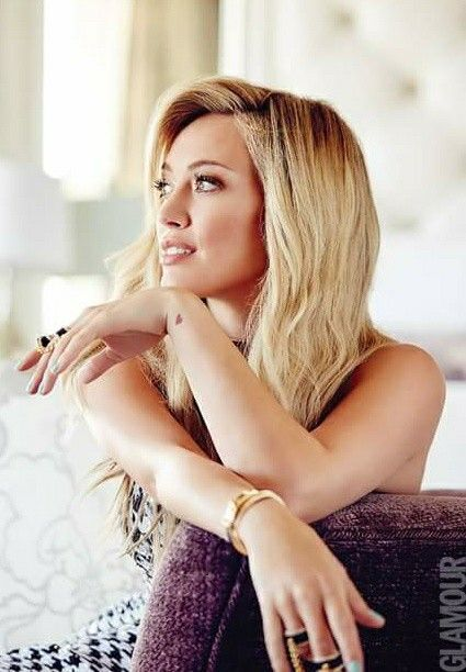 Hilary Duff at a recent Glamour shoot. Discover Hilary in full episodes of Younger on TV Land at http://www.tvland.com/shows/younger.