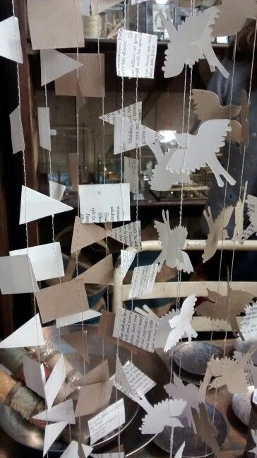 #paper #mobile #paperart #arty #chain