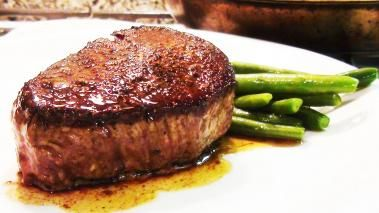 How to cook the perfect filet mignon:  To me,  the Perfect Filet Mignon has a salty, crispy outside, and tender, juicy, medium rare center.  It sounds easy enough. Let's see how it turns out!
