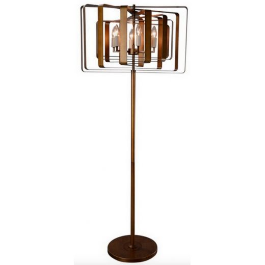 Bronte Bronze Floor Lamp $950