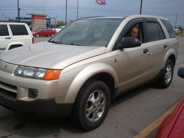 Before the jag....Saturn Vue