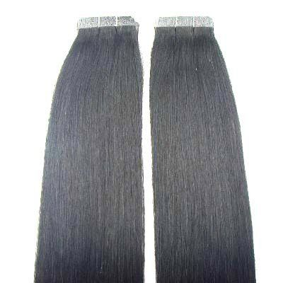"10 Pieces 22"" Remy Tape Hair Extensions #1b Darkest Brown by MyLuxury1st. $54.95. SHIPS IN 6-10 BUSINESS DAYS! IF YOU CAN NOT WAIT; DO NOT ORDER; QUESTIONS? CONTACT MYLUXURY1ST HAIR EXTENSIONS"
