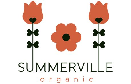 Logotype for Summerville; a swedish brand for organic babyproducts.