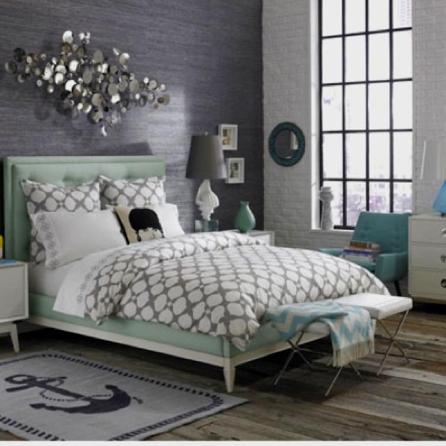 Tiffany Blue Bedroom Bedrooms Pinterest
