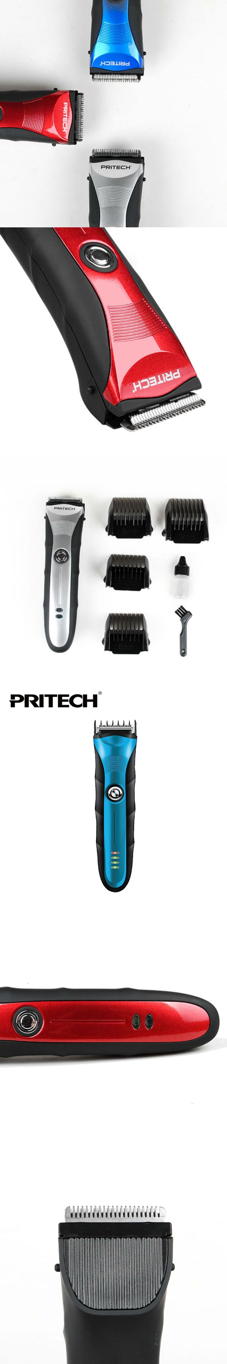 PRITECH Professional Hair Clippers And Trimmers Adult Hair Trimmer Beard Shaver Rechargeable Hair Cutting Machine For Family Use