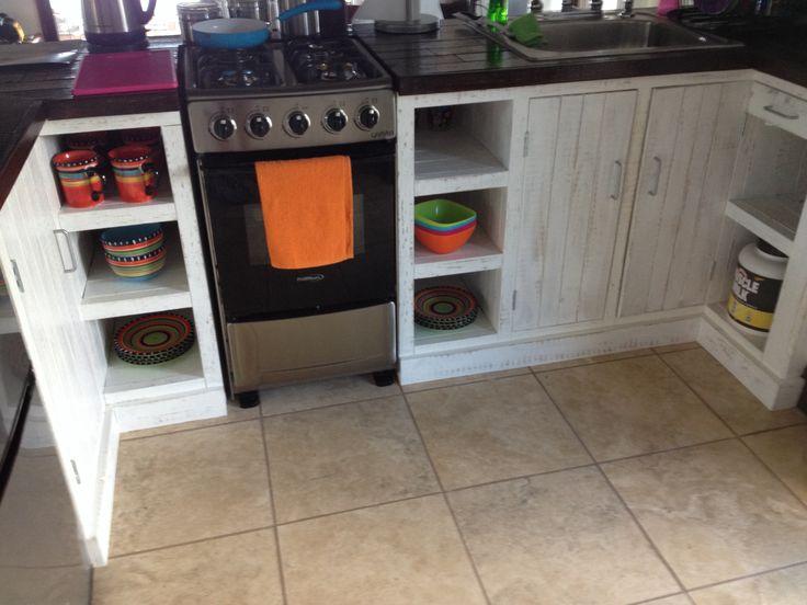 More of pallet design kitchen all hand built