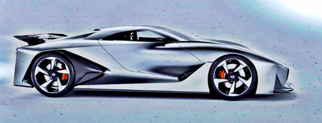 2020 Nissan GTR Concept