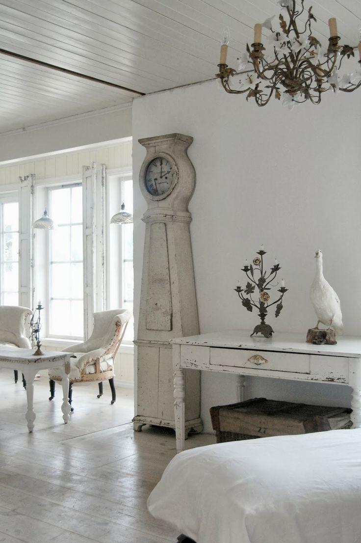 Gustavian living room.