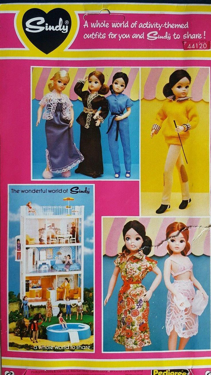 Vintage Pedigree Sindy Doll's 44120 Boutique Dress & Shoes BNIP | eBay