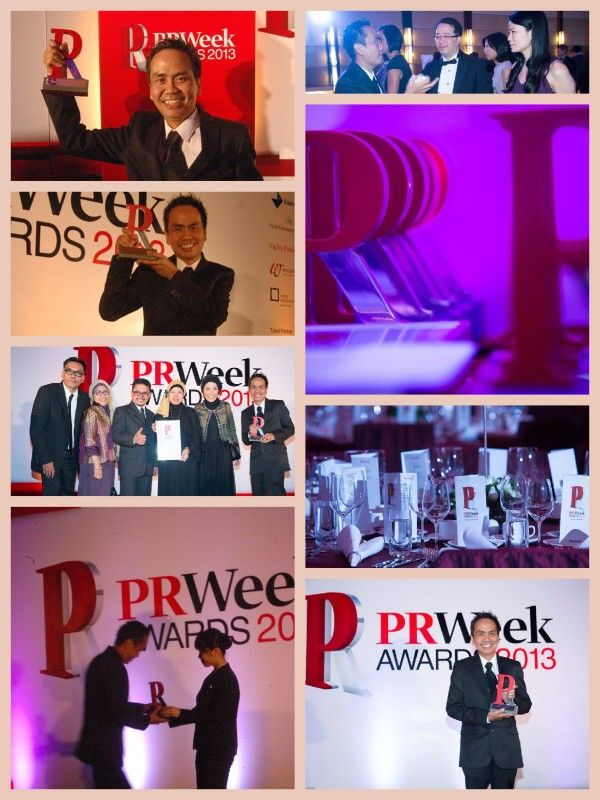 PR Week Award 2013 in Hongkong